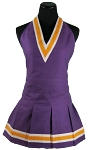 Purple & Gold Kids Apron