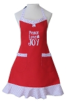 Peace Love Joy Apron